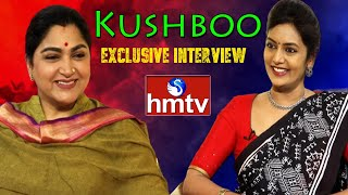 Actress and BJP Leader Kushboo Exclusive Interview with Roja | Full Part