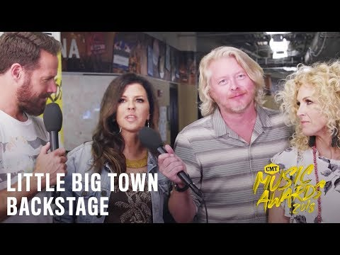 2018 CMT Music Awards  | Little Big Town Backstage