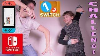 1-2-Switch Challenge en famille ! C'est très fun et délirant ! On peut manger des sandwichs sur la Switch ! lol + de jeux vidéos sur la 1ère chaine de gaming...
