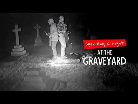 We Tried Spending A Night At A Graveyard | Ft. Akshay & Kanishk | Ok Tested