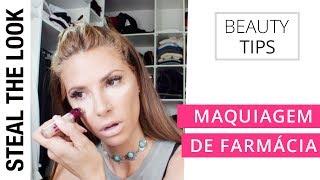 Maquiagem de farmácia | Steal The Look - Dicas de Beleza