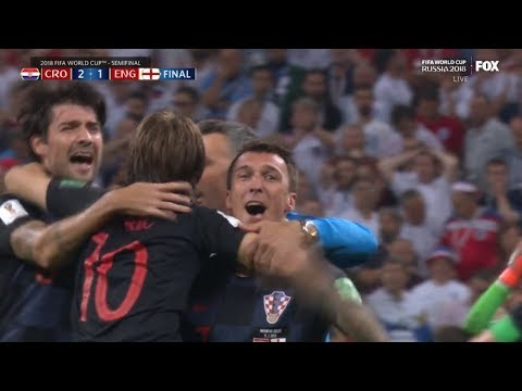 CROATIA VS ENGLAND 2-1 FULL GAME WORLD CUP RUSSIA 2018 SEMI-FINAL REACTION!!