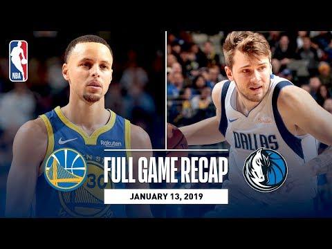 Video: Full Game Recap: Warriors vs Mavericks | Luka & Steph Shine In Dallas