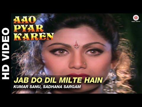 Jab do dil milte hain - Aao Pyaar Karen | Kumar Sanu & Sadhana Sargam | Saif Ali Khan