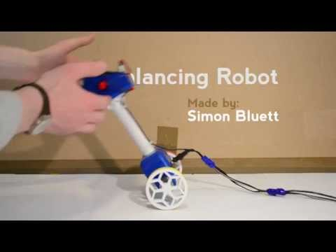 Arduino Balancing Robot Tutorial - Proof of Concept