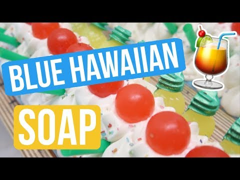Blue Hawaiian Slushie Soap | Royalty Soaps