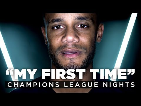 Video: UEFA CHAMPIONS LEAGUE FIRST TIMES | Vincent Kompany and Phil Foden
