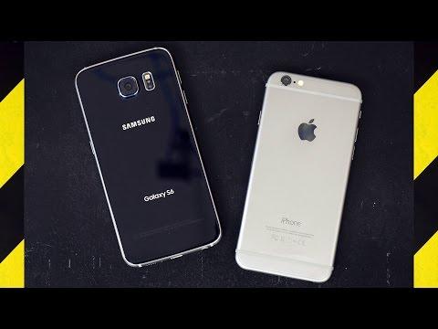 Galaxy S6 ve iPhone 6, profesyonel düşme testinde