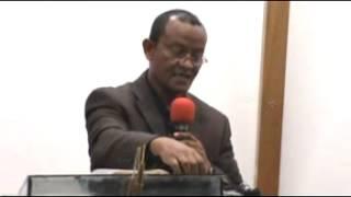 Pastor Girum Tesfaye Preaching Gospel