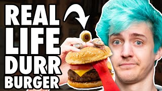 Video Real Life Durr Burger Taste Test ft. Ninja MP3, 3GP, MP4, WEBM, AVI, FLV Juni 2019