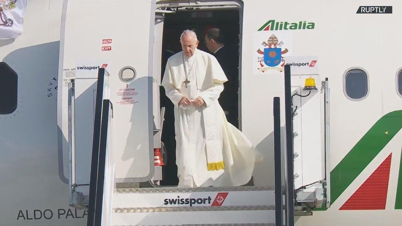 Ο πάπας Φραγκίσκος επισκέπτεται την Ιρλανδία