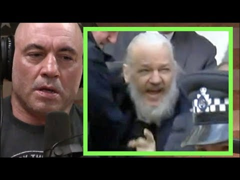 Joe Rogan - What Will Happen To Julian Assange?