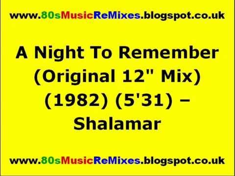 A Night To Remember (Original 12