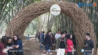 Berburu Makanan Tradisional dan Bayar Dengan Uang Bambu di Pasar Slumprih