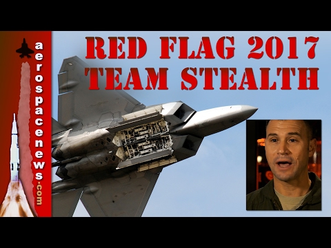 Red Flag 2017 F-22 + F-35 Team...
