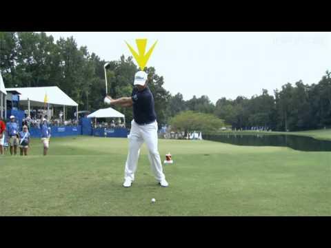Peter Kostis analyzes Webb Simpson's golf swing in slow motion