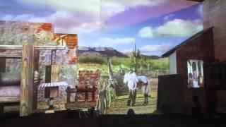 Projeção Mapeada como cenário para o Recanto SEBRAE 2012