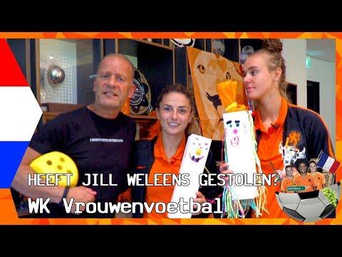 DE EERSTE KUS VAN DANIELLE | ZAPPSPORT WK VROUWENVOETBAL