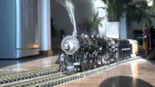 Indoor g scale USAT hudson with heavy weights