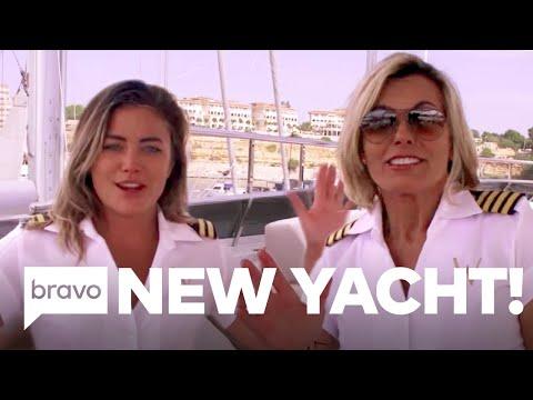 Tour Below Deck Mediterranean Season 5's Yacht, The Wellington   Bravo