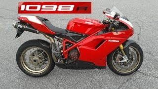 1. 2008 Ducati 1098R Superbike #178 out of 450 - Termignoni exhaust