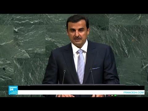 العرب اليوم - شاهد: أمير قطر يدعو لوقف العنف ضد أقلية الروهينغا وحمايتهم