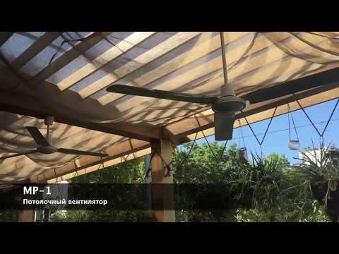 Потолочный вентилятор МР-1 в вентиляции ресторанов