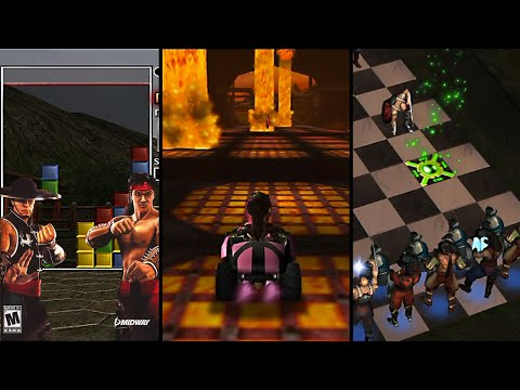 Mortal Kombat's Awkward Mini-Games
