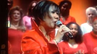 Dr. Marissa Onstage With The Agape International Choir