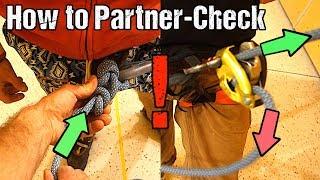 Rock Climbing Basics: The Proper Partner Check by Mani the Monkey