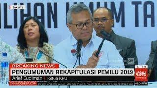 Video Final! Ini Hasil Rekapitulasi KPU untuk Pemilu 2019 ; KPU Tetapkan Jokowi-Ma'ruf Menang Pilpres 2019 MP3, 3GP, MP4, WEBM, AVI, FLV Mei 2019