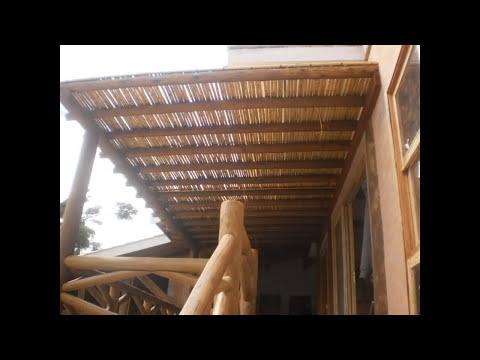 http://www.artbambu.com (11) 20575115 Pérgola de bambu em jardim para decoração