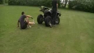 8. 250cc ATV Wheelie