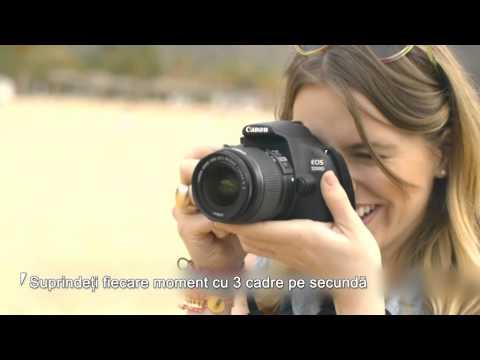 PRIMUL PAS IN FOTOGRAFIE - EOS 1200D