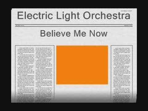 Tekst piosenki Electric Light Orchestra - Belive Me Now po polsku