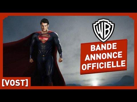 Man Of Steel - Bande Annonce Officielle 1 (VOST) - Zack Snyder / Henri Cavill / Kevin Costner