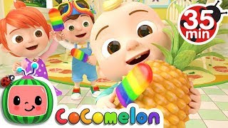 Video Color Song (Ice Pop) | +More Nursery Rhymes & Kids Songs - CoCoMelon MP3, 3GP, MP4, WEBM, AVI, FLV Januari 2019