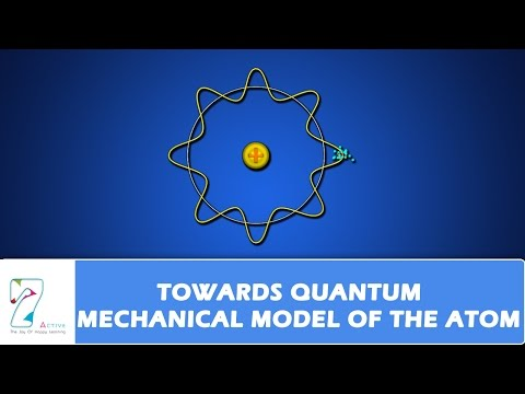 QUANTUM MECHANICAL MODEL OF THE ATOM PART 01