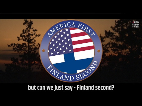 America First, Finland Second (OFFICIAL) | Noin Viikon Uutiset with Jukka Lindström
