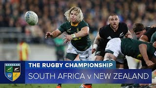 South Africa v New Zealand Rd.6 2018 Rugby Championship video highlights | Rugby Championship Video