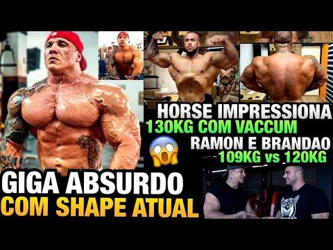 GIGA ABSURDO - HORSE SHAPE IMPRESSIONANTE - RAMON  E BRANDÃO (109KG e 120KG) - BASE MAX COMEÇA !!