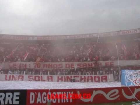 LGARS 1997 - Clásico Bogotano - La Guardia Albi Roja Sur - Independiente Santa Fe