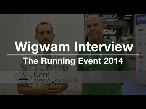 Wigwam Socks Interview At The Running Event 2014