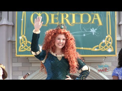 disney - Visit http://www.InsideTheMagic.net for more from Merida's coronation ceremony as a Disney Princess! On May 11, 2013, Disney Princesses welcomed Merida from ...