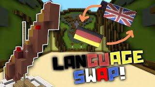 Minecraft - BUILD BATTLE LANGUAGE SWAP | A new way to play build battle!
