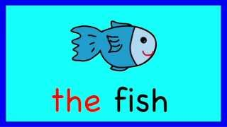 The Song:, Article The, A Learn to Read Sight Word Song for Children