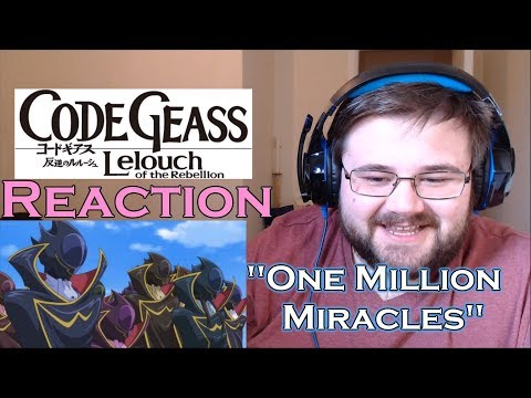 """Code Geass: Lelouch of the Rebellion R2 - Episode 8 - """"One Million Miracles"""" - Reaction"""