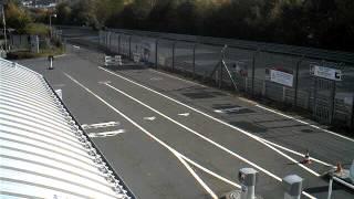 Nurburgring Gate Webcam Timelapse October 10, 2012