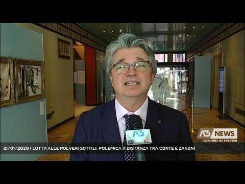 21/01/2020 | LOTTA ALLE POLVERI SOTTILI, POLEMICA A DISTANZA TRA CONTE E ZANONI