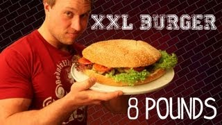Essing Germany  city photo : The XXL Burger - 8lb (3.6kg) Burger | Furious Pete